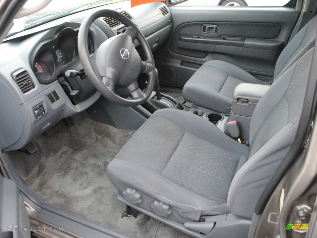 Gray Interior 2003 Nissan Frontier Xe V6 Crew Cab Photo 60742295