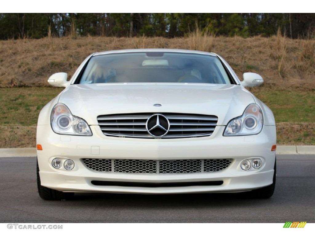 alabaster white 2006 mercedes benz cls 500 exterior photo 60744188. Black Bedroom Furniture Sets. Home Design Ideas