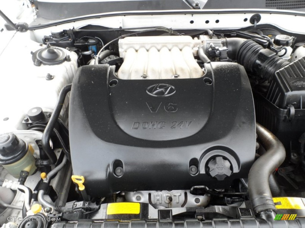 2002 Hyundai Sonata LX V6 Engine Photos