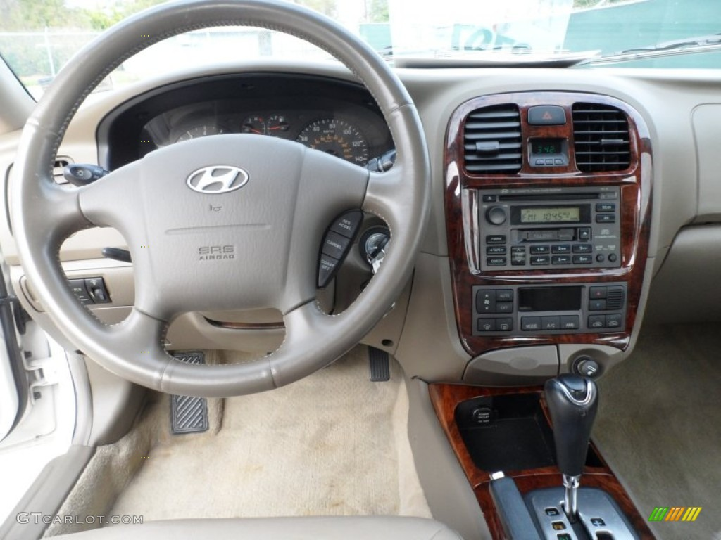 Hyundai Sonata 2002 Interior The Image Kid Has It