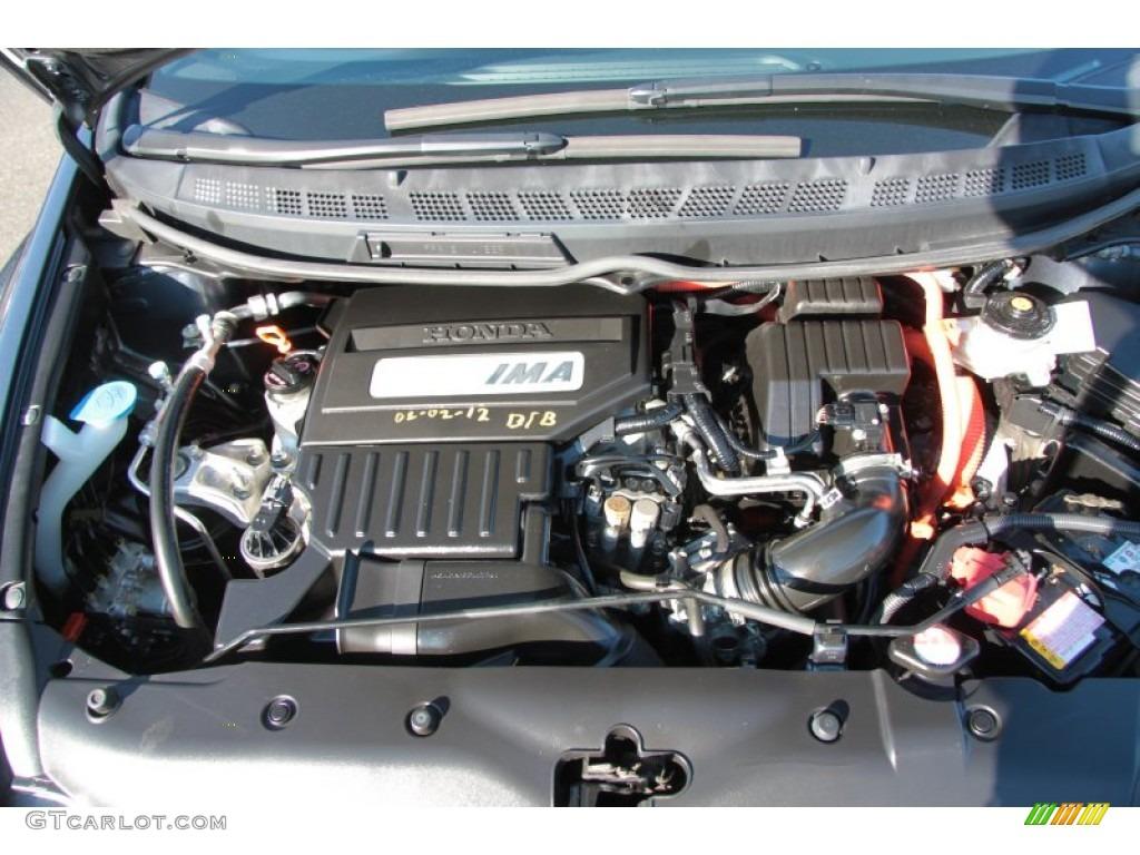 2007 Honda Civic Hybrid Sedan 1 3l Sohc 8v I Vtec 4