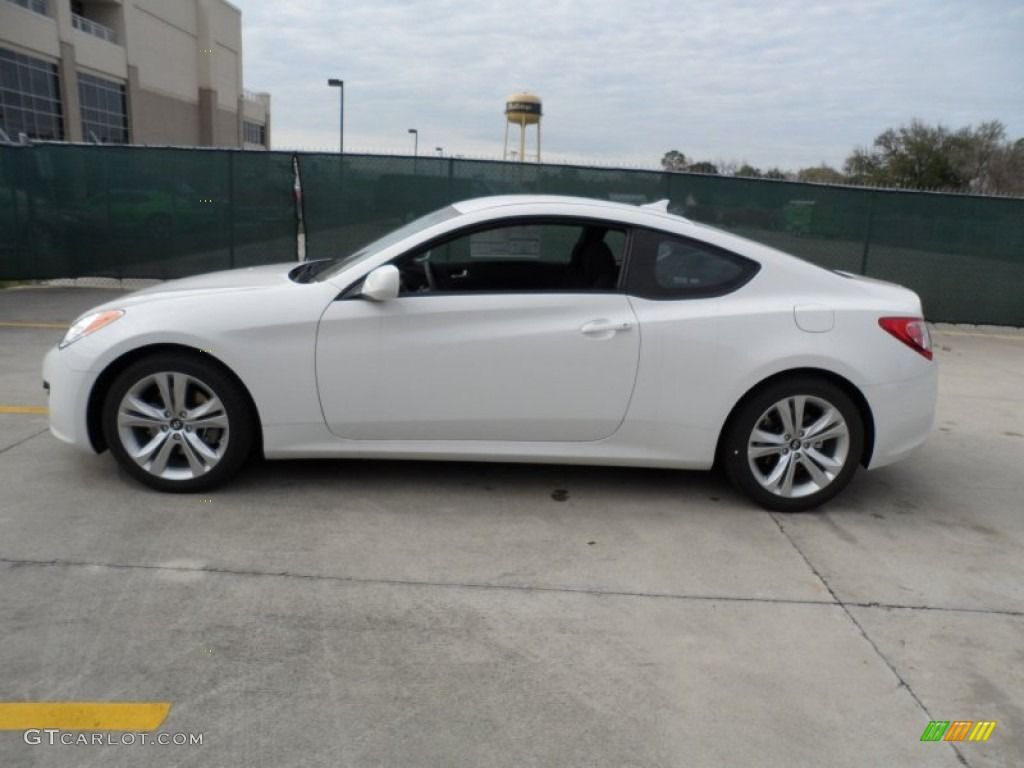 monaco white 2012 hyundai genesis coupe 2 0t exterior photo 60748166. Black Bedroom Furniture Sets. Home Design Ideas