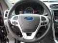 2012 Ford Explorer Charcoal Black Interior Steering Wheel Photo