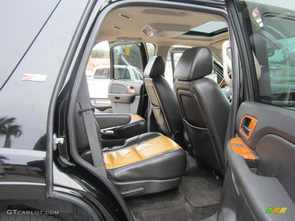 Morocco Brown Ebony Interior 2007 Chevrolet Tahoe Z71 4x4 Photo 60753944