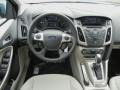 2012 Frosted Glass Metallic Ford Focus SEL Sedan  photo #7