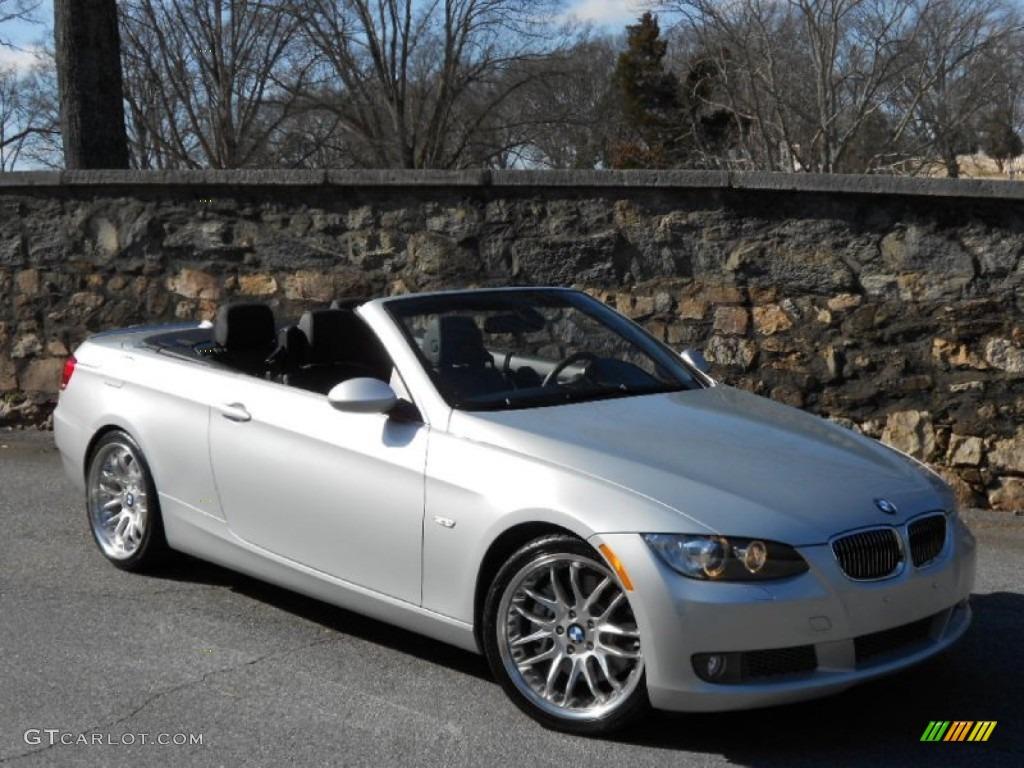 Titanium Silver Metallic BMW Series I Convertible - 2009 bmw 335i convertible