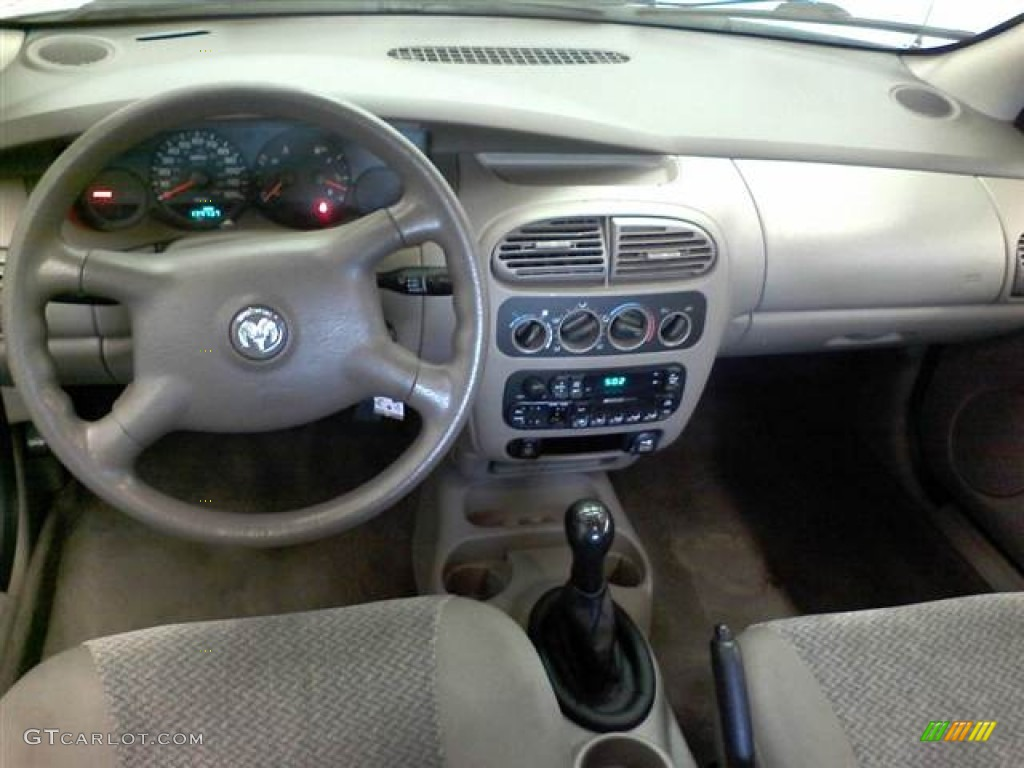 2002 Dodge Neon Standard Neon Model Dashboard Photos