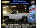 2012 Summit White Chevrolet Silverado 1500 Work Truck Regular Cab 4x4  photo #1