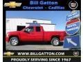 2012 Victory Red Chevrolet Silverado 1500 LT Crew Cab 4x4  photo #1