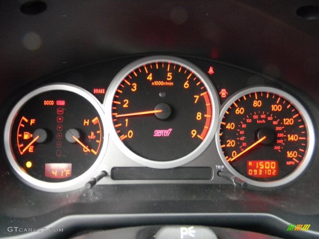 2006 Subaru Impreza Wrx Sti Gauges Photo 60772880