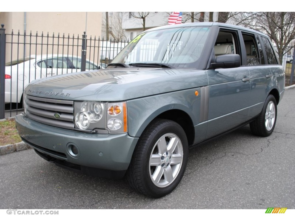 2005 Range Rover HSE - Giverny Green Metallic / Sand/Jet photo #1
