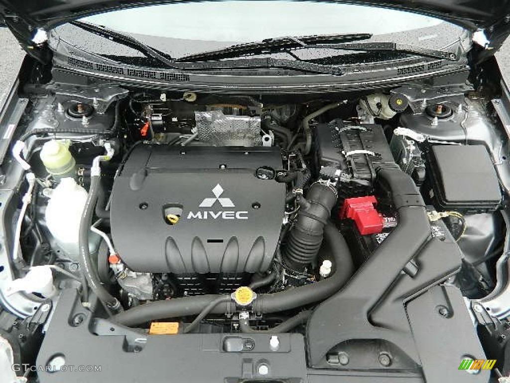 2008 Mitsubishi Lancer ES 20L DOHC 16V MIVEC Inline 4 Cylinder