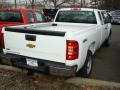 2012 Summit White Chevrolet Silverado 1500 Work Truck Extended Cab 4x4  photo #2
