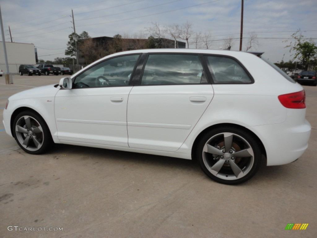 Audi Window Sticker By Vin >> Ibis White 2012 Audi A3 2.0T Exterior Photo #60798731 | GTCarLot.com