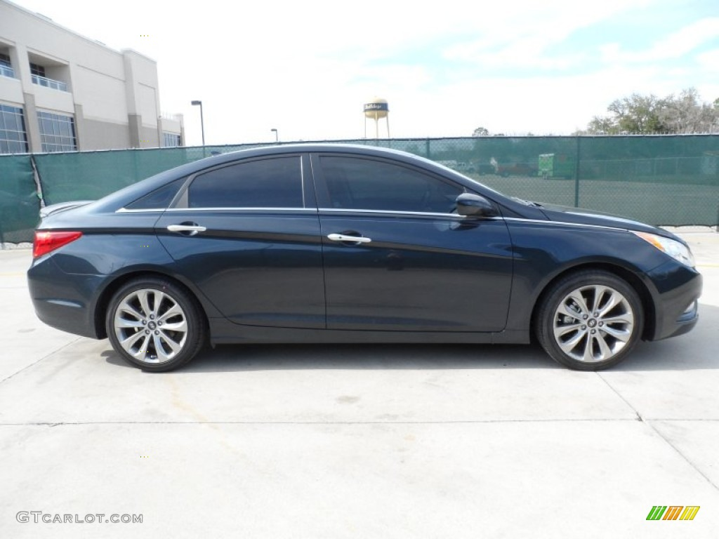 Pacific Blue Pearl 2012 Hyundai Sonata Se Exterior Photo