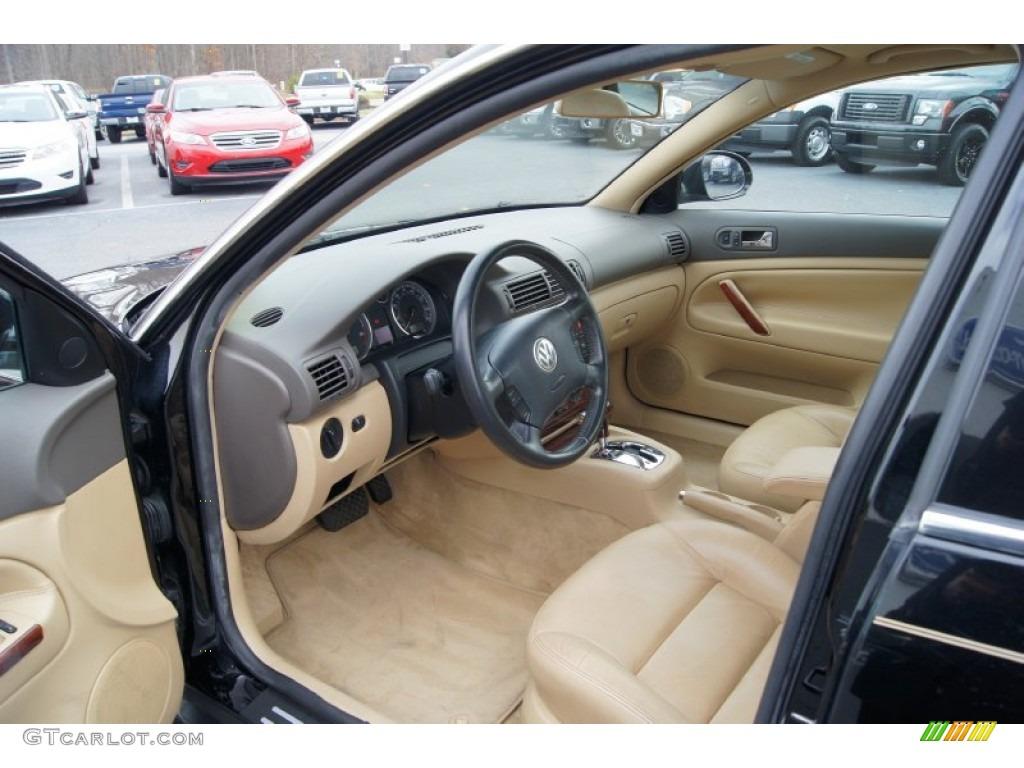 Beige interior 2004 volkswagen passat gls tdi sedan photo for Volkswagen passat interior
