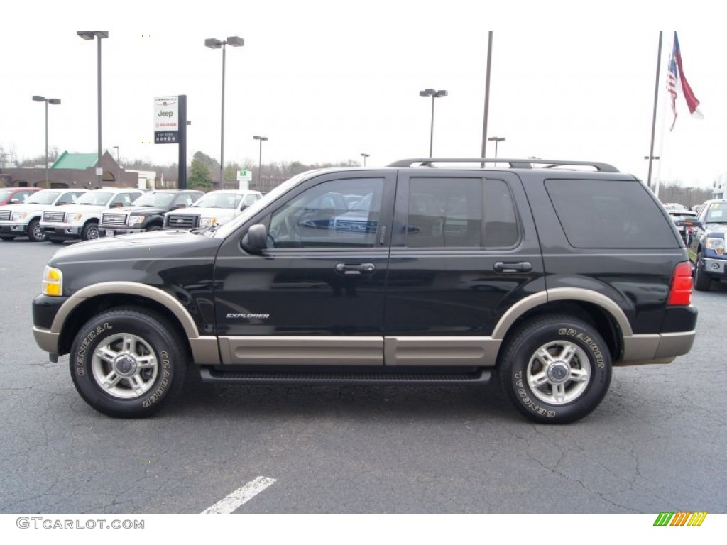 black clearcoat 2002 ford explorer eddie bauer exterior photo 60803471. Black Bedroom Furniture Sets. Home Design Ideas