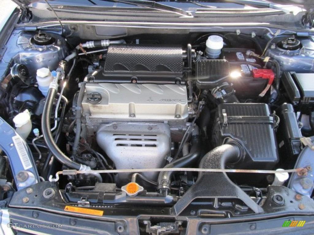 2007 Mitsubishi Galant Se 2 4 Liter Sohc 16 Valve Mivec 4 Cylinder Engine Photo 60807516