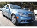 Quartz Blue Metallic 2011 Mercedes-Benz C Gallery