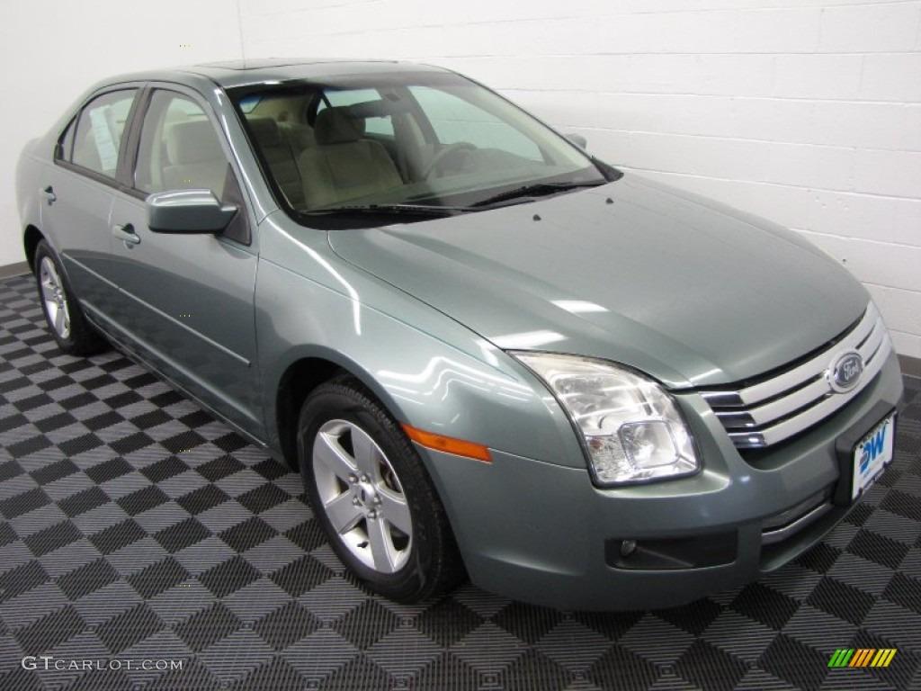 2006 titanium green metallic ford fusion se v6 60805185 photo 33 car color. Black Bedroom Furniture Sets. Home Design Ideas