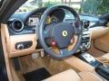 2007 Ferrari 599 GTB Fiorano Tan Interior Steering Wheel Photo