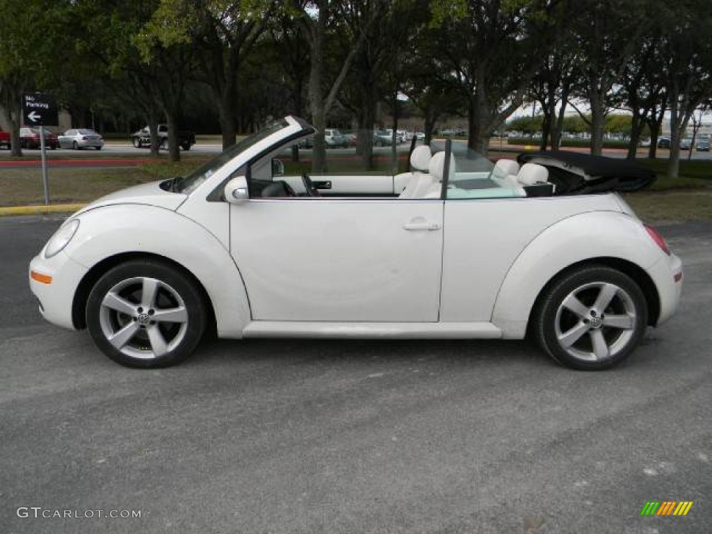 Campanella White 2007 Volkswagen New Beetle Triple Convertible Exterior Photo 60825047