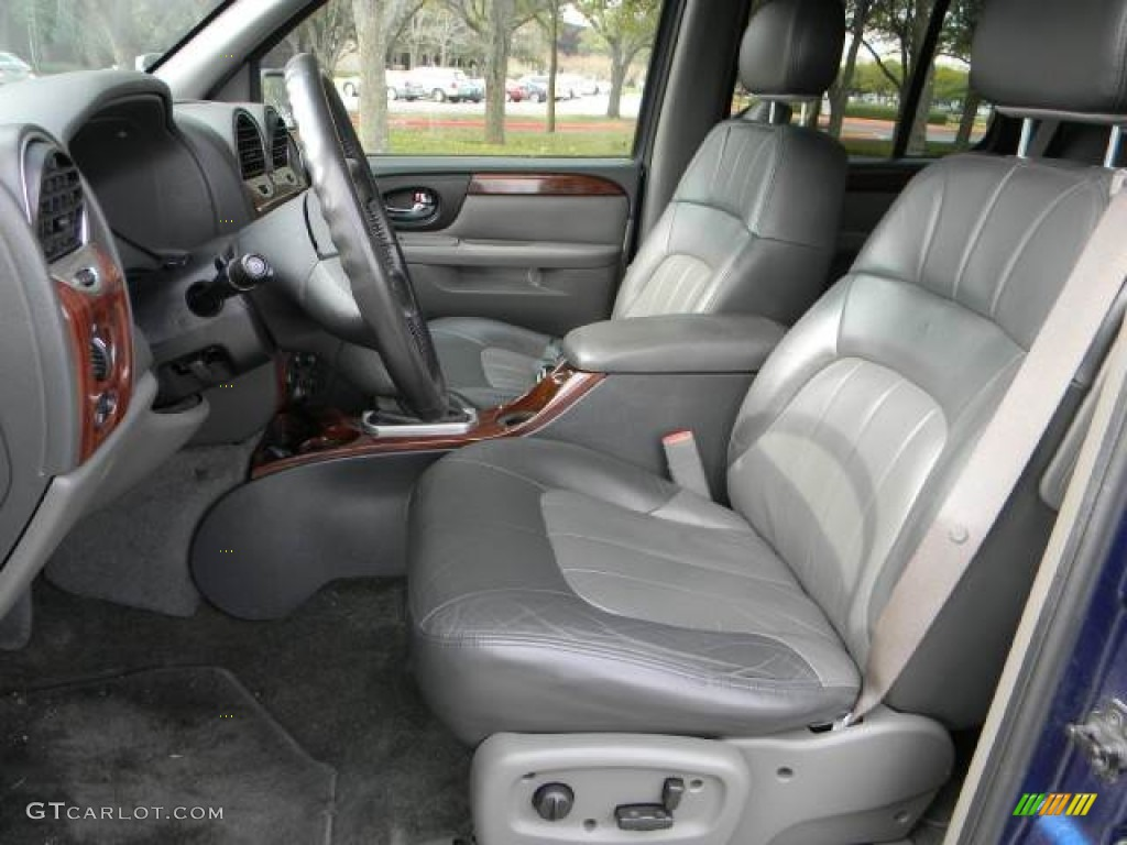 Dark pewter interior 2004 gmc envoy slt photo 60825104