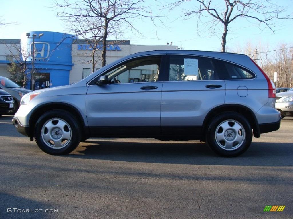 2009 CR-V LX 4WD - Glacier Blue Metallic / Gray photo #1