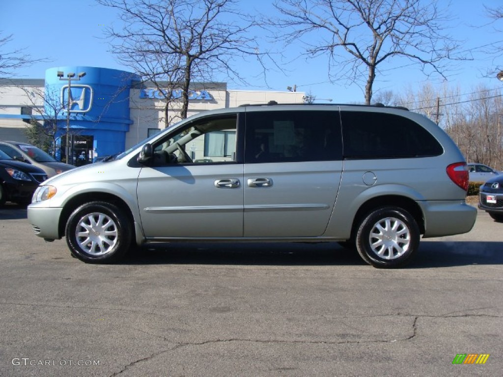 2003 satin jade pearl chrysler town country lx 60805393. Black Bedroom Furniture Sets. Home Design Ideas