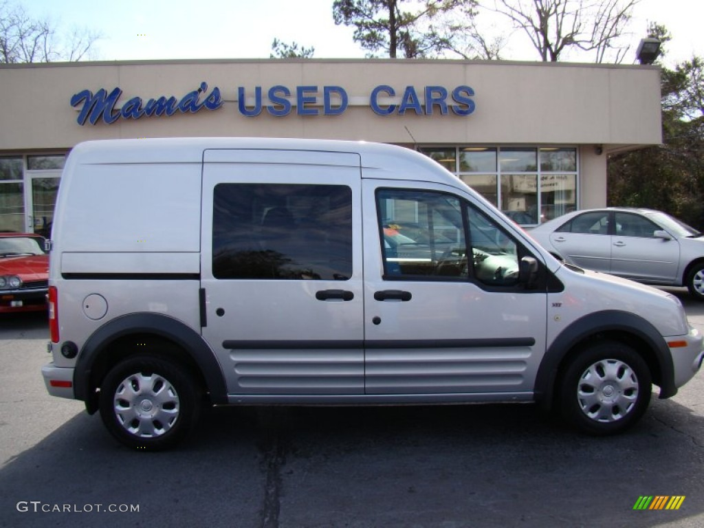 2010 Silver Metallic Ford Transit Connect Xlt Cargo Van 60805092