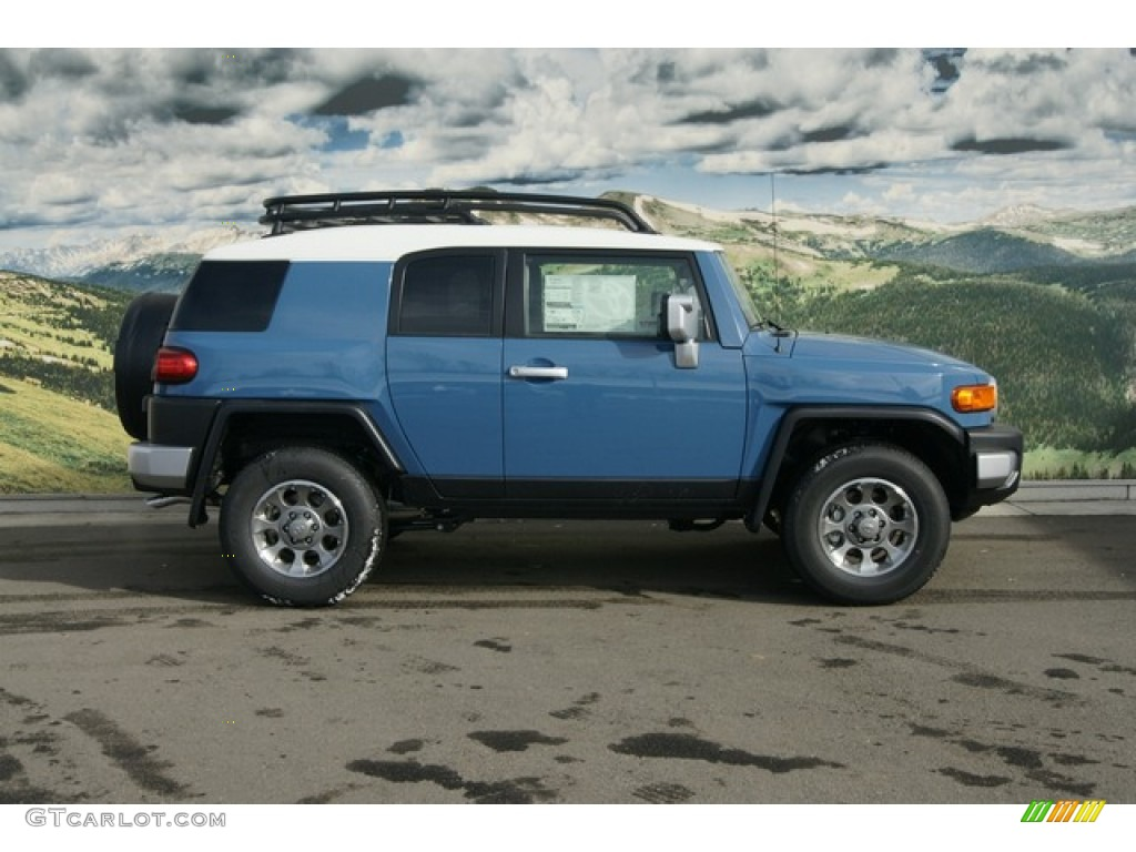 Cavalry Blue 2012 Toyota FJ Cruiser 4WD Exterior Photo 60836723