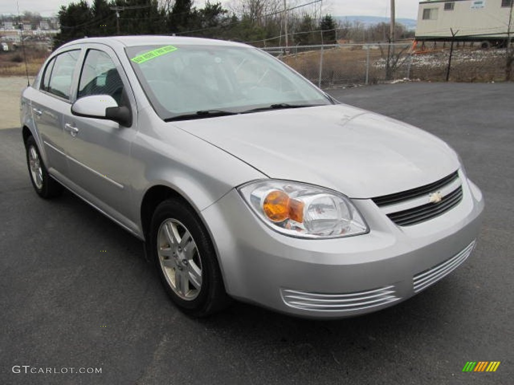 ultra silver metallic 2005 chevrolet cobalt ls sedan. Black Bedroom Furniture Sets. Home Design Ideas