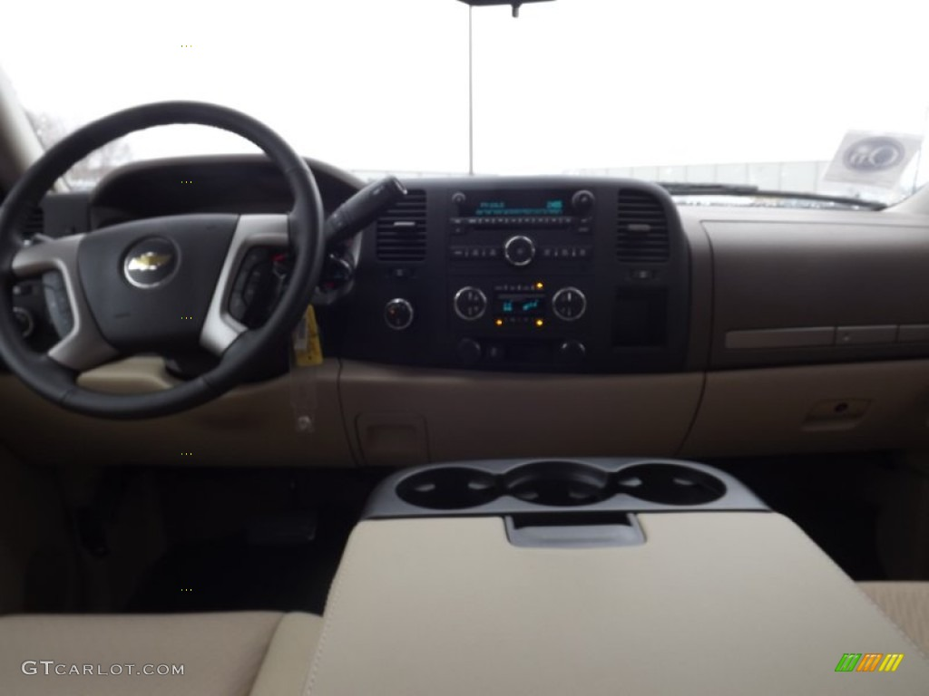 2012 Silverado 1500 LT Crew Cab 4x4 - Mocha Steel Metallic / Light Cashmere/Dark Cashmere photo #10