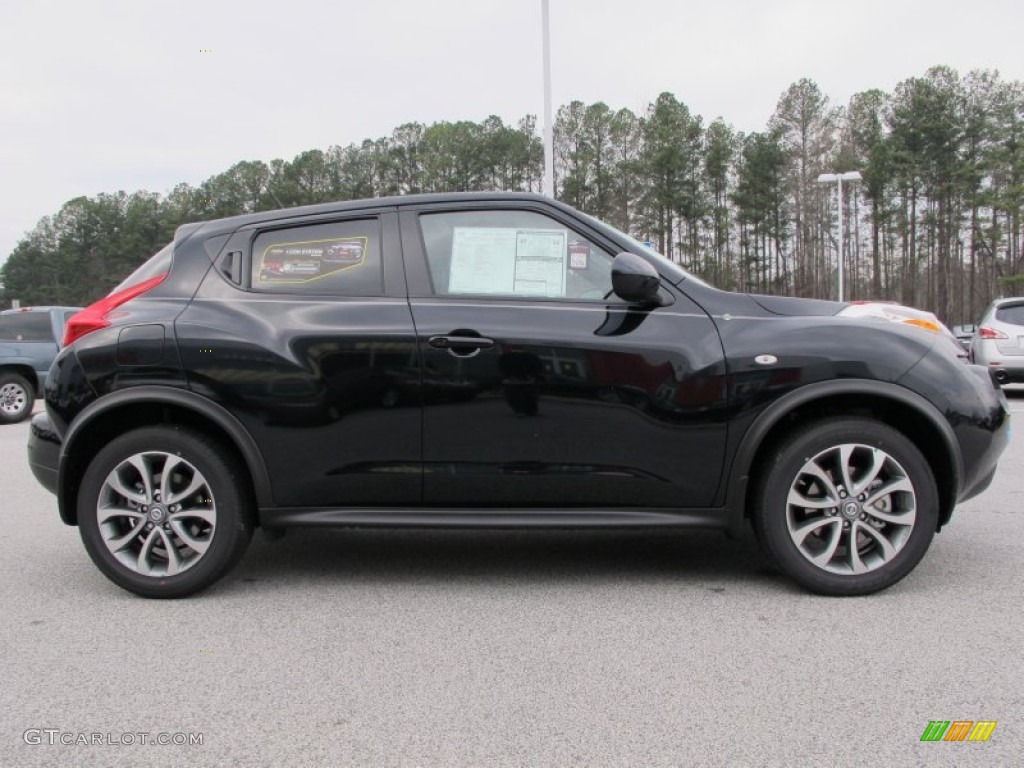 sapphire black 2012 nissan juke sl exterior photo. Black Bedroom Furniture Sets. Home Design Ideas