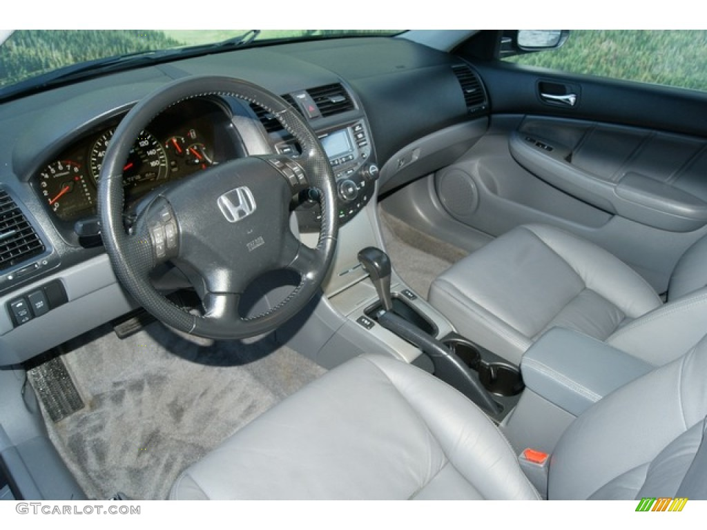 Gray Interior 2007 Honda Accord Hybrid Sedan Photo #60860256 ...