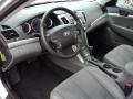 Gray 2009 Hyundai Sonata Interiors