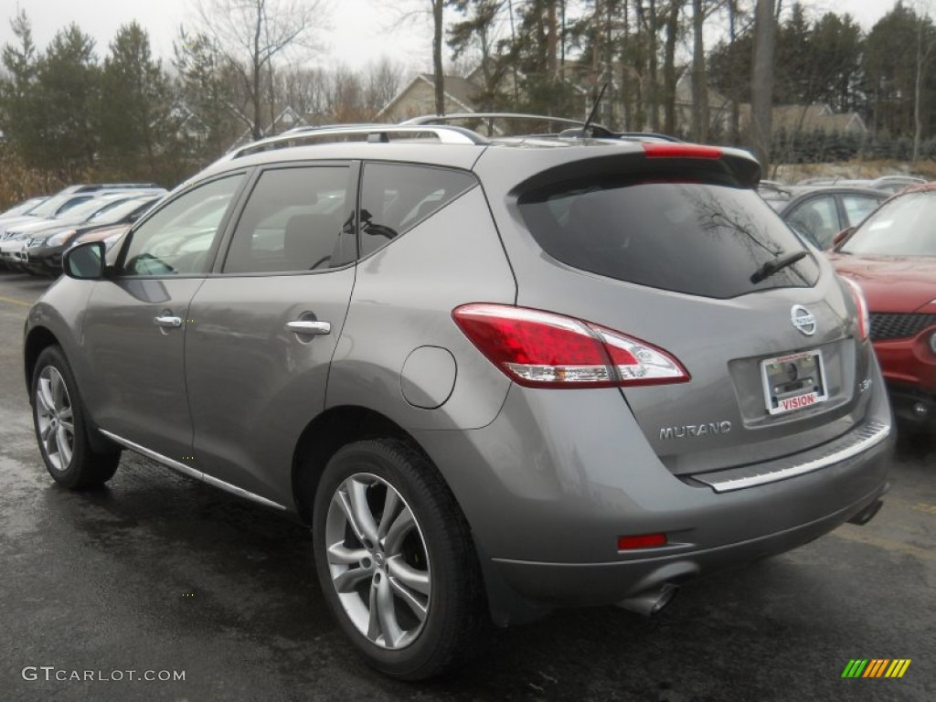 2011 Murano LE AWD - Platinum Graphite / Black photo #16