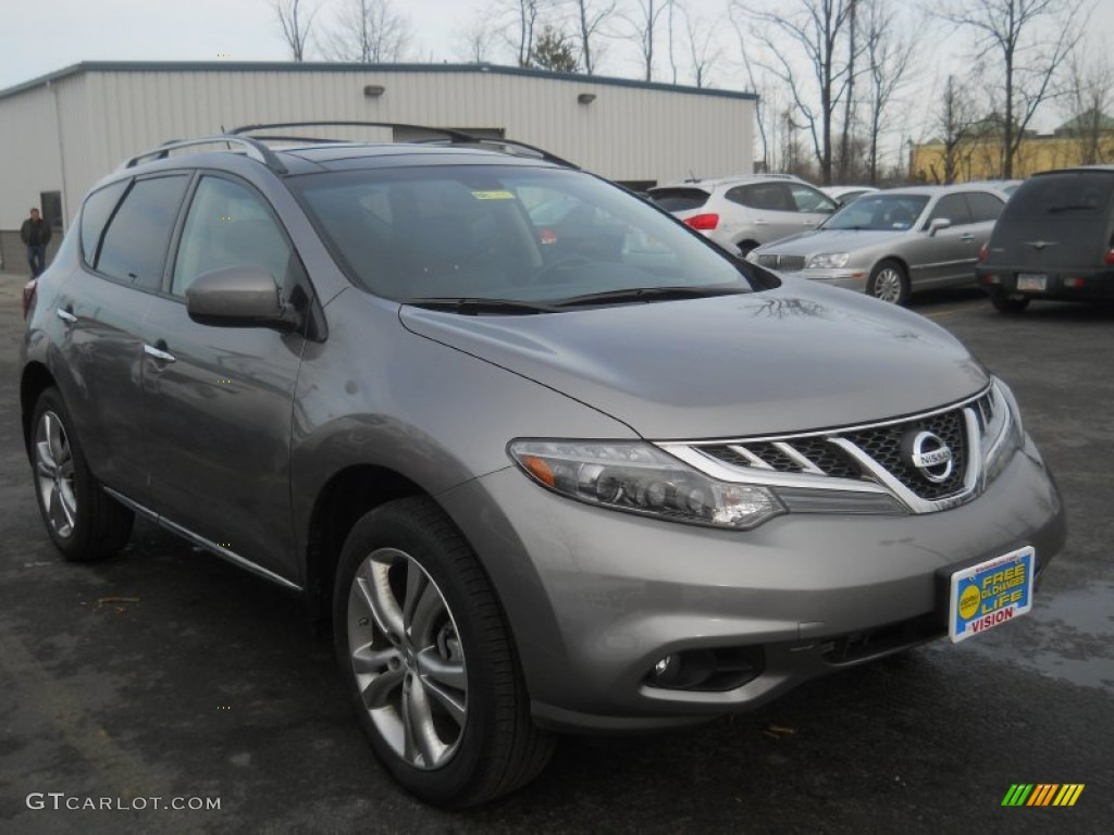 2011 Murano LE AWD - Platinum Graphite / Black photo #18