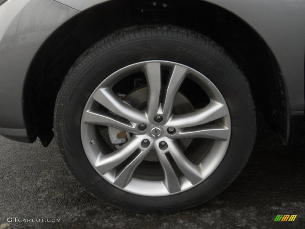 2011 Murano LE AWD - Platinum Graphite / Black photo #20