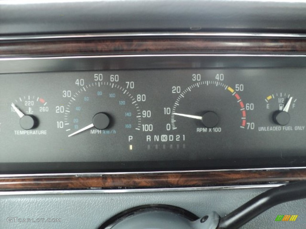 1992 Buick Roadmaster Limited Gauges Photos Gtcarlot Com