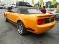2007 Grabber Orange Ford Mustang V6 Deluxe Convertible  photo #4
