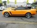 2007 Grabber Orange Ford Mustang V6 Deluxe Convertible  photo #5