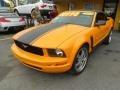 2007 Grabber Orange Ford Mustang V6 Deluxe Convertible  photo #6