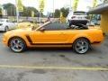 2007 Grabber Orange Ford Mustang V6 Deluxe Convertible  photo #7