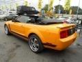 2007 Grabber Orange Ford Mustang V6 Deluxe Convertible  photo #10