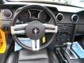2007 Grabber Orange Ford Mustang V6 Deluxe Convertible  photo #17