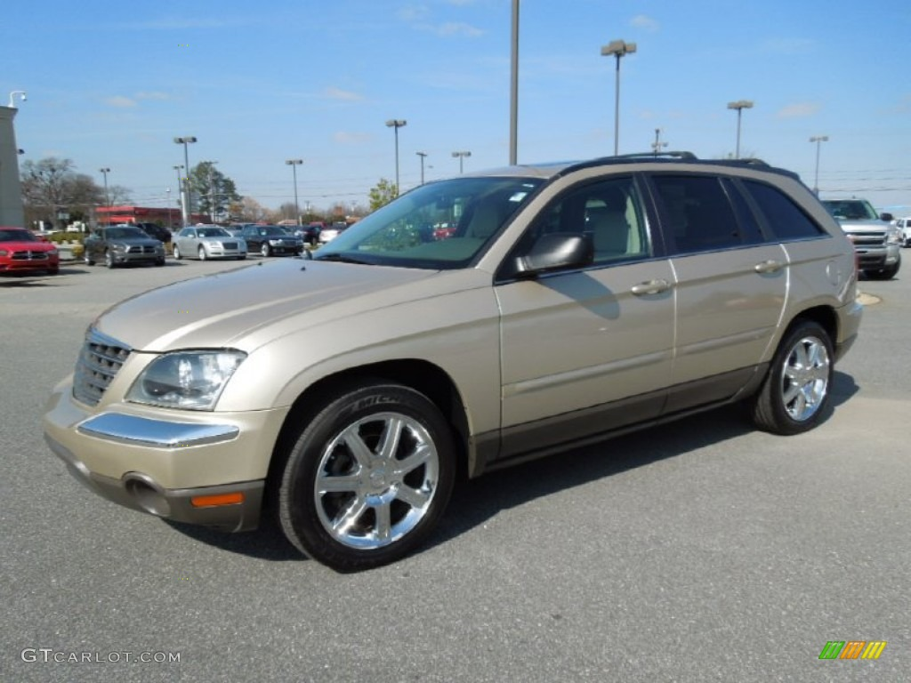 linen gold metallic pearl 2006 chrysler pacifica touring exterior. Cars Review. Best American Auto & Cars Review