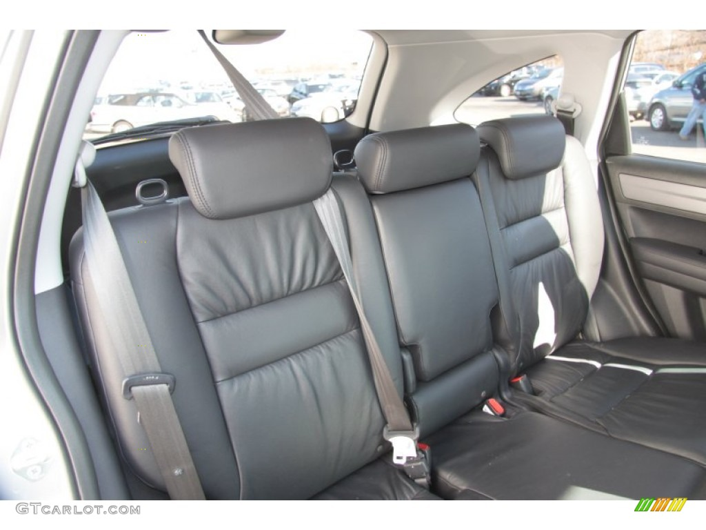 2009 CR-V EX-L 4WD - Alabaster Silver Metallic / Black photo #11
