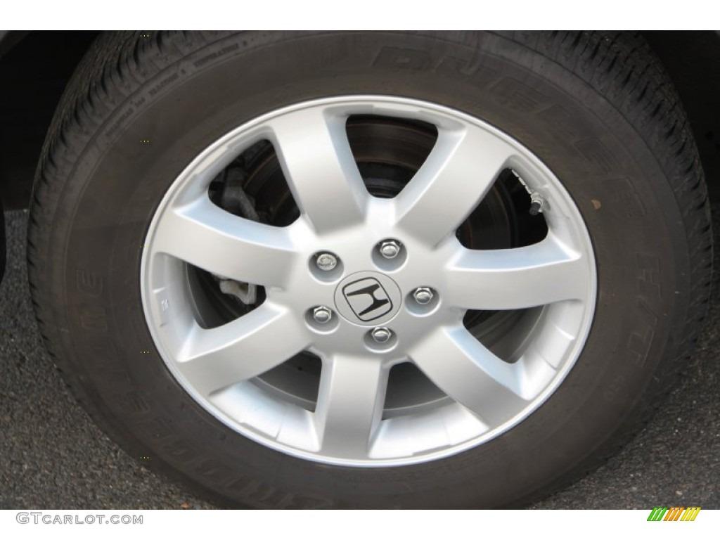 2009 CR-V EX-L 4WD - Alabaster Silver Metallic / Black photo #14