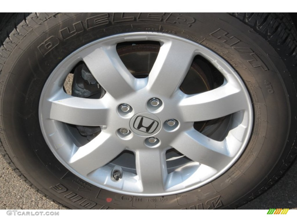 2009 CR-V EX-L 4WD - Alabaster Silver Metallic / Black photo #16